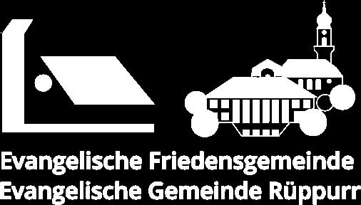 Friedensgemeinde/Evangelische Gemeinde Rüppurr Logo