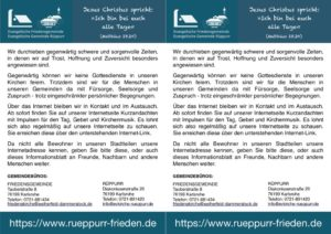 thumbnail of Doppel-Flyer-Internetseite