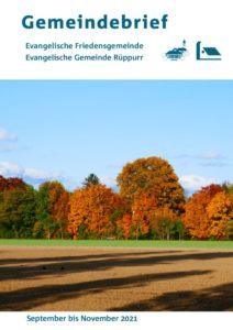 thumbnail of Gemeindebrief Herbst 2021 Online